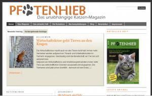 Katzenmagazin Pfotenhieb