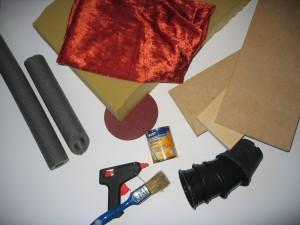 Abbildung 1: Materialien