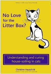 """""""No love for the Litter Box?"""" ist die englischsprachige Übersetzung des Titels """"Stille Örtchen für Stubentiger""""."""